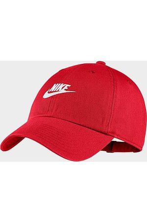 Nike Sportswear Heritage86 Futura Washed Adjustable Back Hat in /University 100% Cotton/Twill