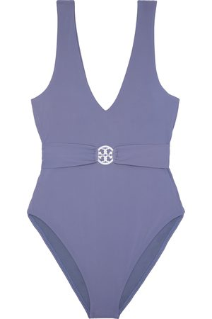 Tory Burch Women's Miller Plunge One-Piece Swimsuit