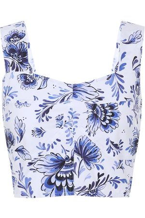 ALEXANDRA MIRO Exclusive to Mytheresa – Maia printed cotton-poplin top