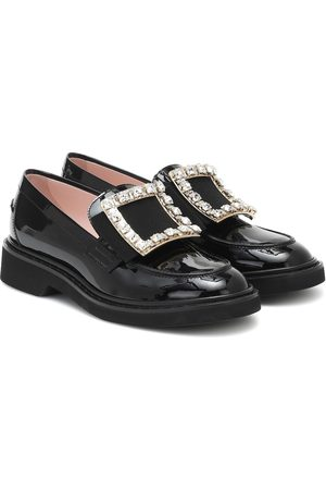 Roger Vivier Women Loafers - Viv' Rangers patent-leather loafers