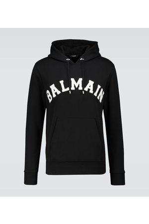 Balmain College hooded sweater