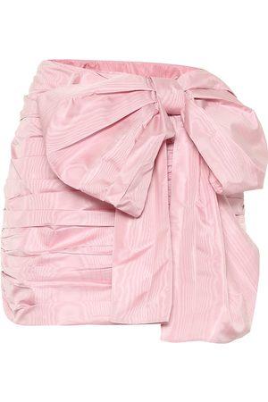 RED Valentino Taffeta miniskirt