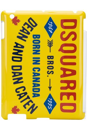 Dsquared2 Logo print iPad case