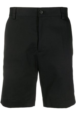 VERSACE Embroidered Signature logo shorts