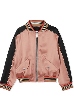 Burberry Girls Bomber Jackets - Deer motif bomber jacket