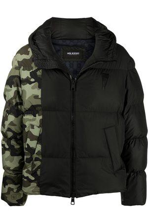 Neil Barrett Camouflage-print puffer jacket