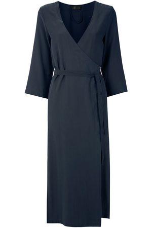 Haight Side-slit wraparound dress