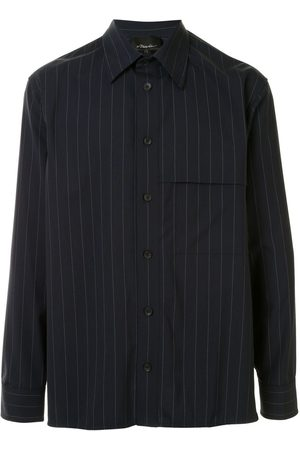 3.1 Phillip Lim Men Casual - Pinstriped oversized shirt