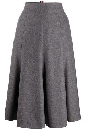 Thom Browne High-waisted skirt - Grey