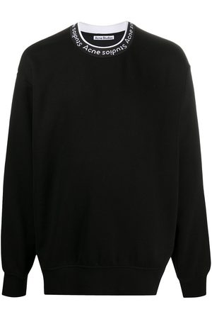 Acne Studios Logo neck sweatshirt