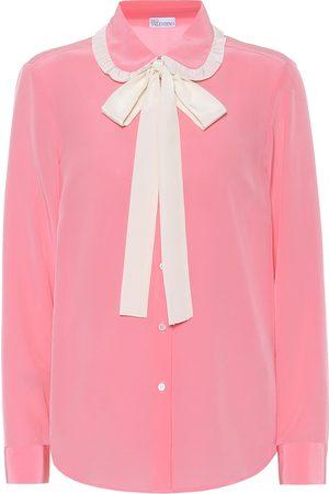 RED Valentino Silk crêpe-de-chine shirt