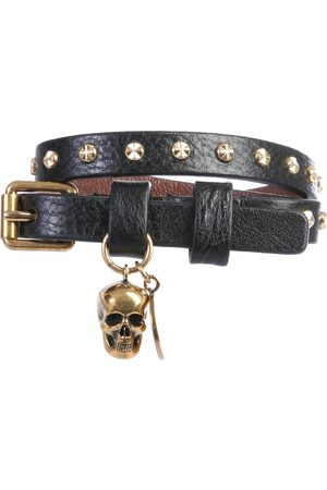 Alexander McQueen Men Bracelets - Bracciale doppio giro