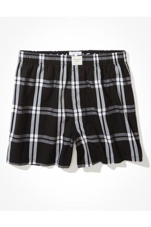 American Eagle Outfitters Men Boxer Shorts - O Plaid Stretch Boxer Short Men's S