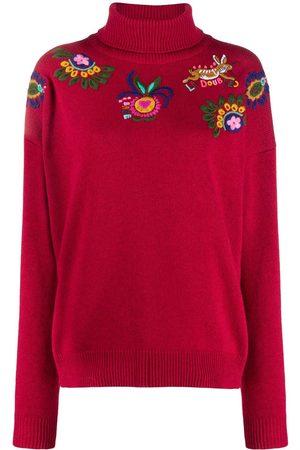 La DoubleJ Boys Sweaters - Boy floral embroidery jumper