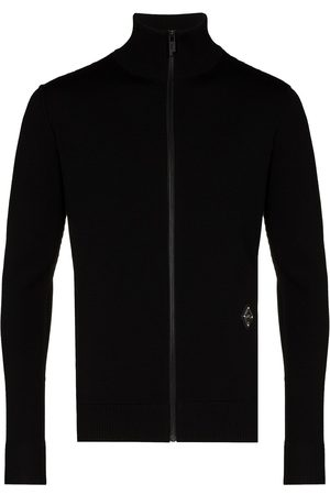 A-cold-wall* Men Turtlenecks - High-neck front-zip jumper