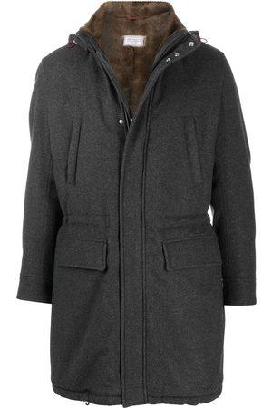 Brunello Cucinelli Men Coats - Single breasted coat - Grey