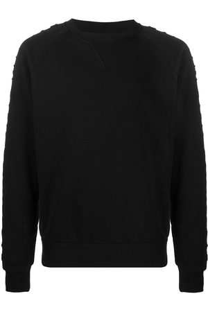 Balmain Logo-detail crew-neck sweatshirt