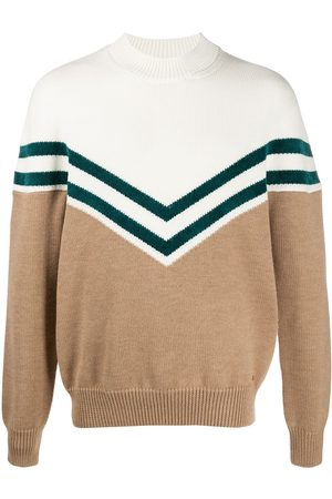 Dsquared2 Colour-block knitted jumper - Neutrals