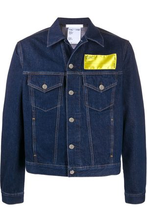 Helmut Lang Industry big trucker denim jacket