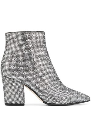 Sergio Rossi Women Ankle Boots - Glitter ankle boots - Grey