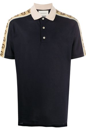 Gucci Logo-tape polo shirt