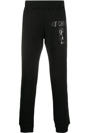 Moschino Men Sweatpants - Logo print track pants