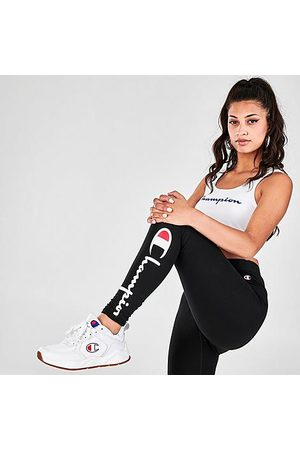 Champion Women Leggings - Women's LIFE Everyday Leggings in Size X-Small Cotton