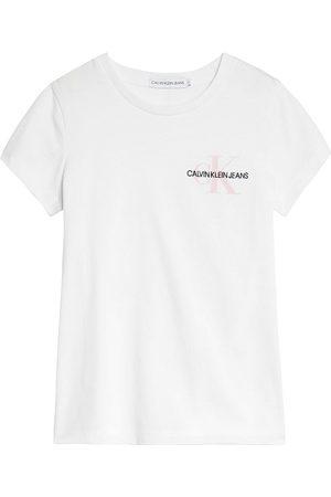 Calvin Klein Girls Tops - Chest Monogram Top