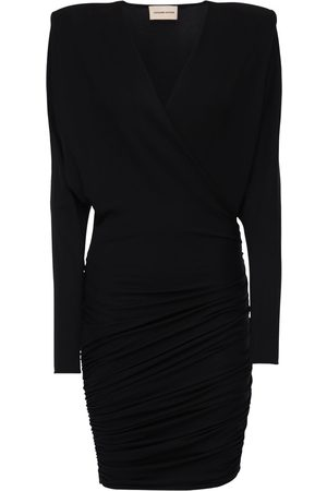ALEXANDRE VAUTHIER Draped Stretch Jersey Dress