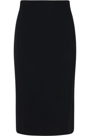 Alexander McQueen Women Pencil Skirts - Leaf Crepe Pencil Skirt