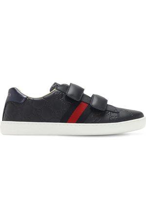 Gucci Gg Supreme ssima Leather Sneakers