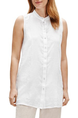 Eileen Fisher Women's Organic Linen Tunic Top