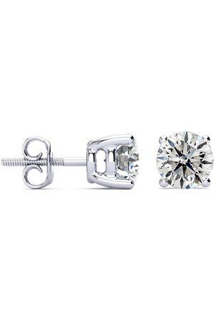 Hansa 2 Carat Diamond Stud Earrings Set in (