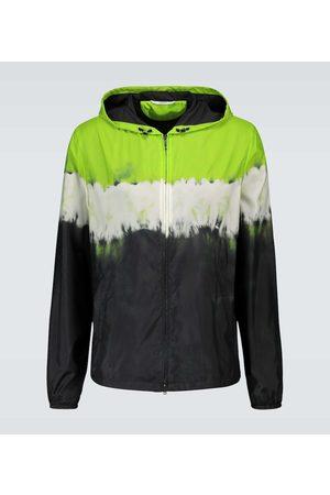 VALENTINO Tie-dye nylon jacket