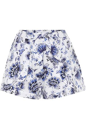 ALEXANDRA MIRO Exclusive to Mytheresa – Floral cotton shorts