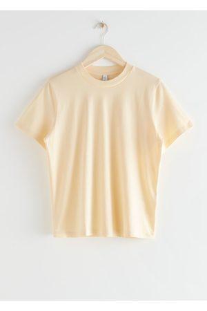 & OTHER STORIES Boxy Organic Cotton T-Shirt