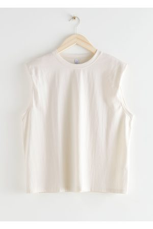 & OTHER STORIES Padded Shoulder Tank Top