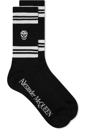 Alexander McQueen Men Sports Equipment - Sport Stripe Skull Sock