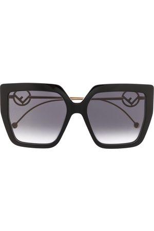 Fendi 0410/S oversized-frame sunglasses