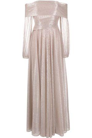 TALBOT RUNHOF Women Party Dresses - Bonton metallic gown