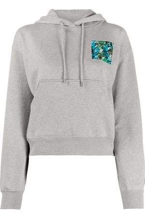 Kenzo Abstract print hoodie - Grey