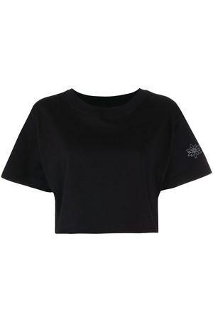 Styland Women T-shirts - Cropped jersey T-shirt