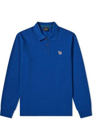 Paul Smith Men Polo Shirts - Long Sleeve Zebra Polo