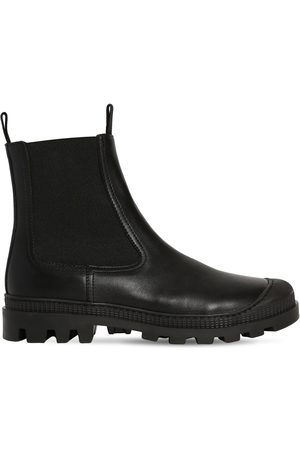 Loewe 30mm Chelsea Leather Boots