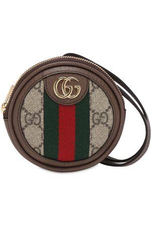 Gucci Ophidia Gg Supreme Round Coin Case