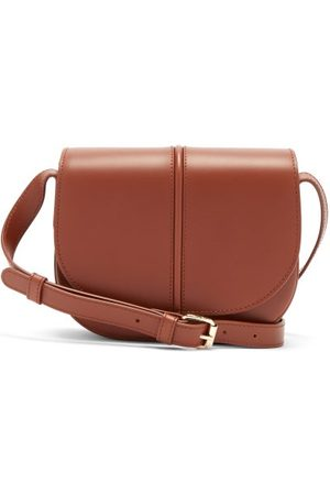 A.P.C Betty Smooth Leather Cross-body Bag - Womens - Tan