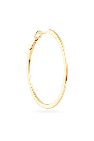 Maria Tash Single 18kt Hoop Earring - Womens