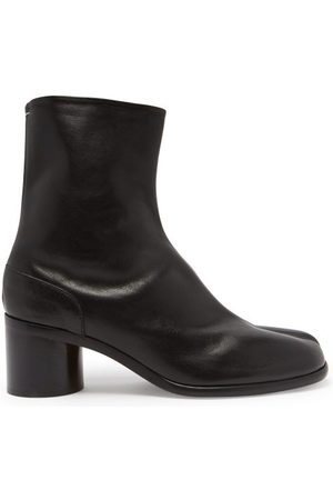 Maison Margiela Tabi Split-toe Leather Ankle Boots - Mens
