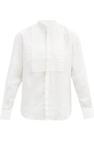 Bourrienne Paris X Comédien Square-bib Linen Shirt - Mens