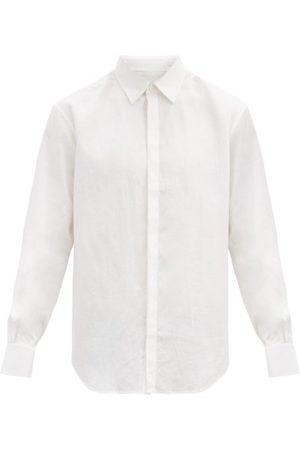 Bourrienne Paris X Cavalier Tailored Linen-poplin Shirt - Mens